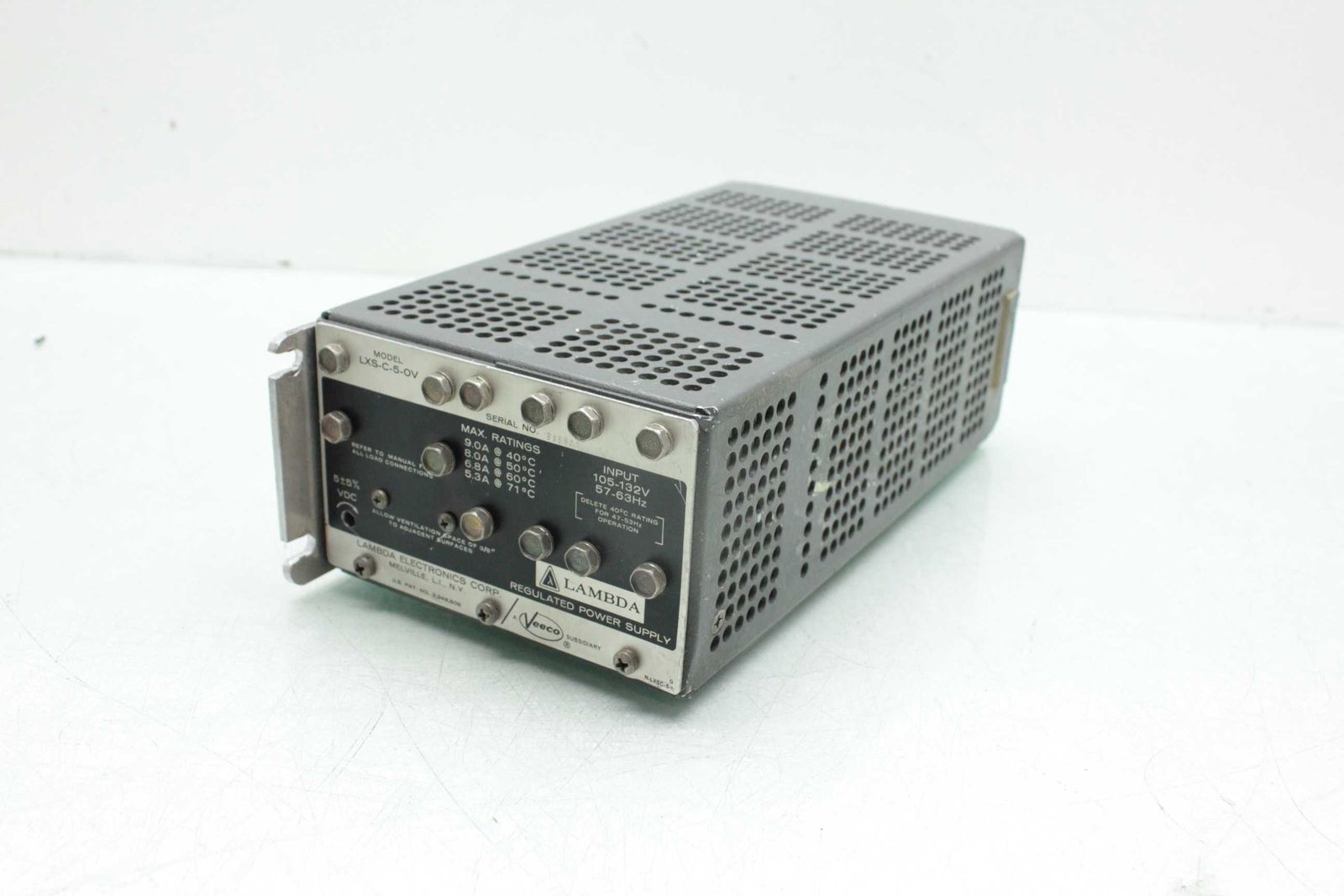Lambda-LXS-C-5-OV-Chassis-Mount-Regulated-Power-Supply-Input-105-132V-57-63Hz-Used-183253409567