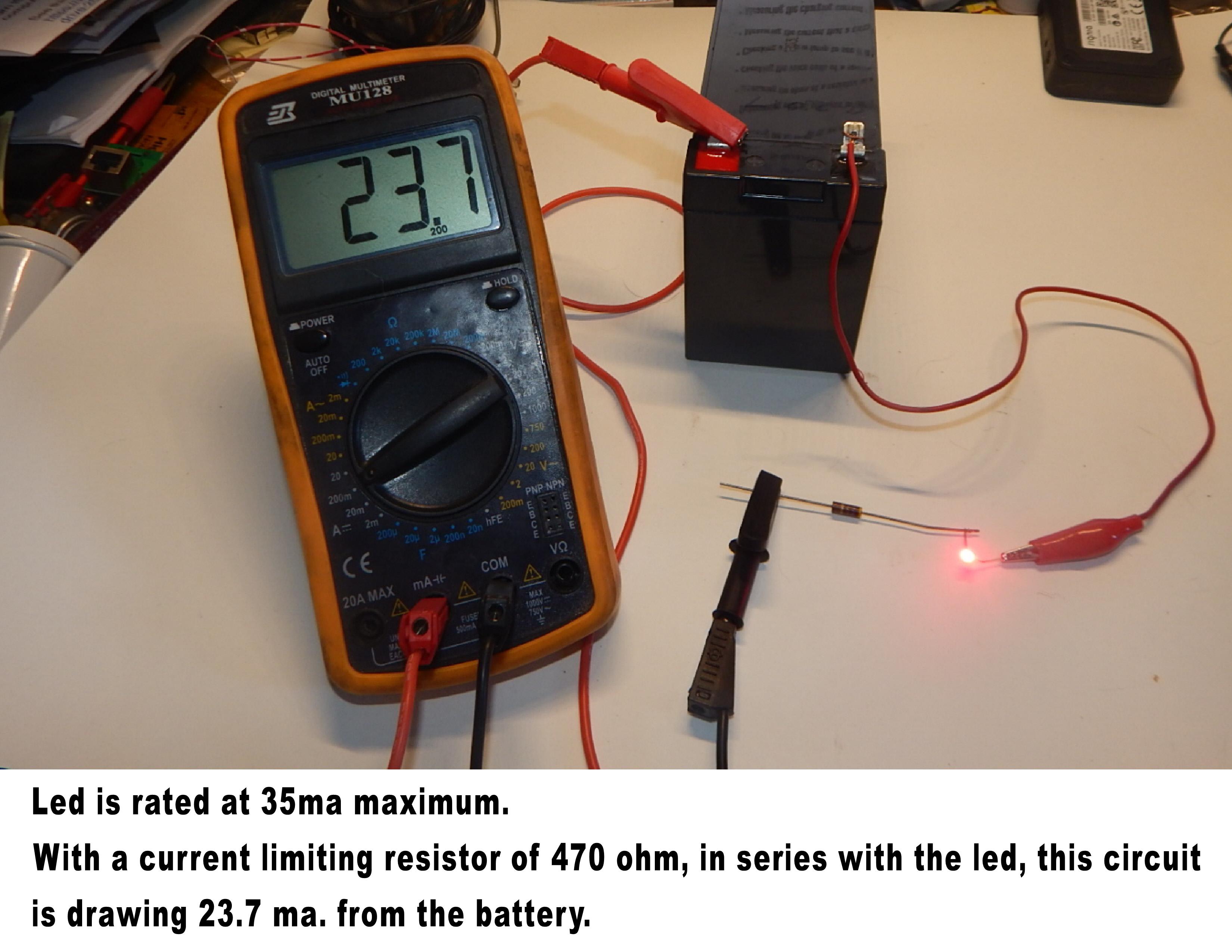 LED current