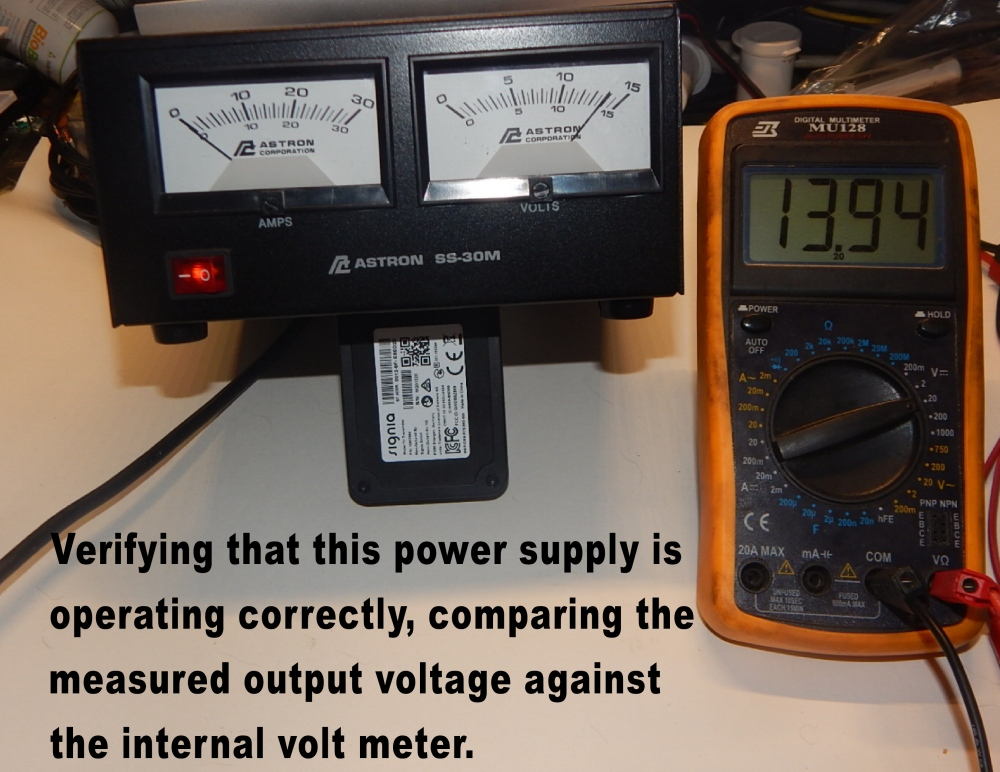 Power Supply output