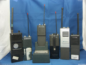 UHF PORTABLES USED WITH IN AMB REPS PICT5501